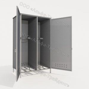 ШГМ-02-02 шкаф для баллонов