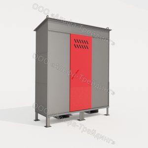 ШХБ-02-02 шкаф для баллонов