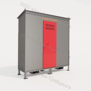 ШХБ-03-02 шкаф для баллонов