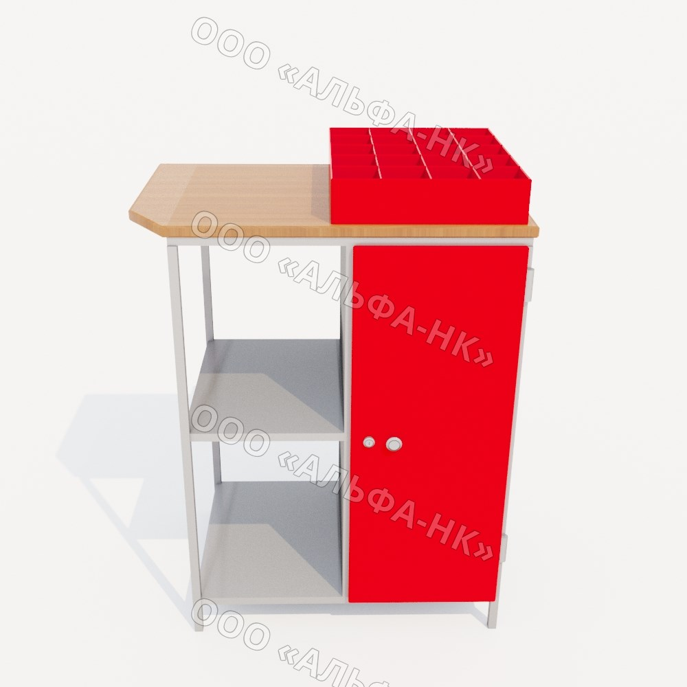 ТПМ-09-02 стол-тумба для инструмента