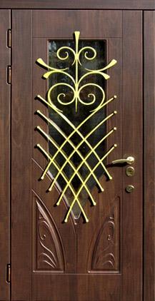 Двери художественные (стеклопакет, зеркало, ковка) серии «ГАММА»