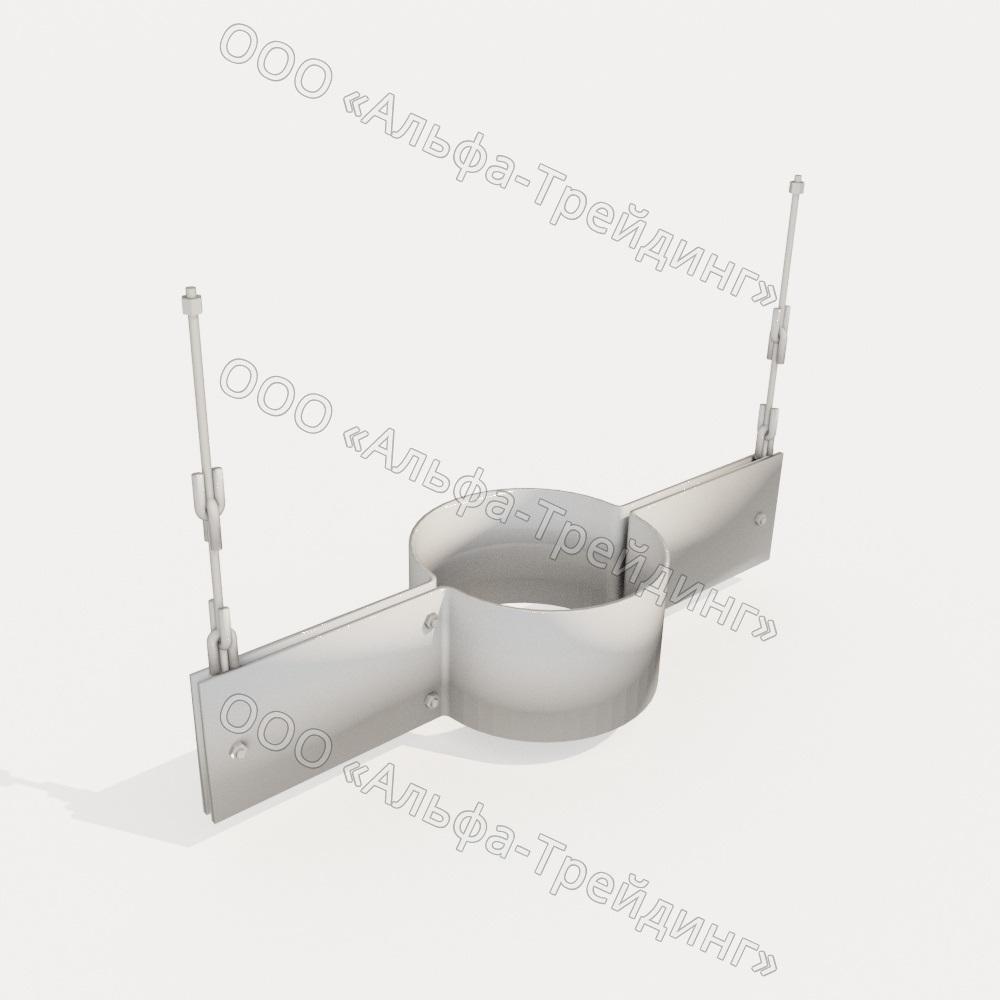 ПГ2 — подвеска с двумя тягами, регулируемыми гайками, и опорной балкой